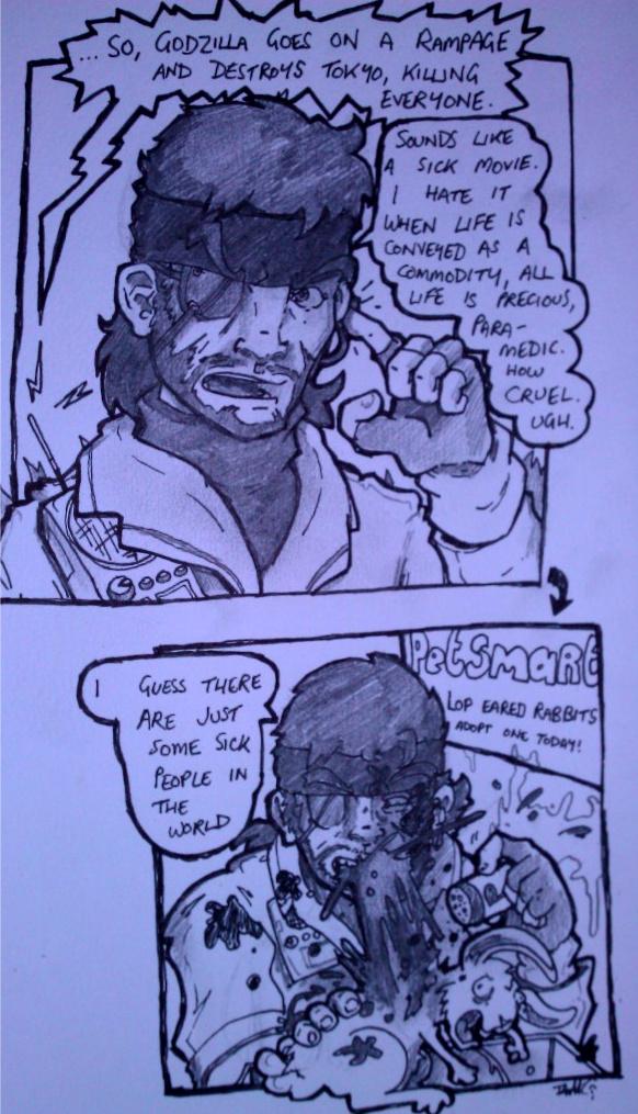 Hypocrisy Like A Boss (Metal Gear Solid 3 Snake Eater)