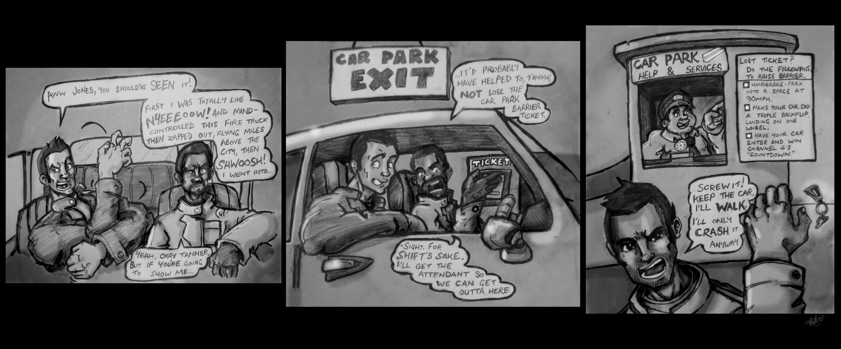 I Never DID Escape that Car Park (Driver)